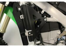 Works Connection 18-B300 black radiator braces for 2019-2020 Kawasaki KX450