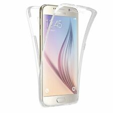 Pour Samsung  Galaxy Coque Gel 360 Protection INTEGRAL Transparent INVISIBLE