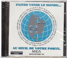 RENCONTRE 93 QUEBEC compilation CD PROMO nirvana meat loaf aerosmith .. NEUF