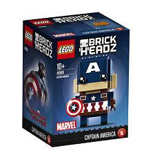 ++++ TOP Lego BRICKHEADZ CAPTAIN AMERICA (41589) NEU NEW MISB ++++