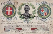 """BOLOGNA: 1901- Pro Infanzia abbandonata - Circolo giovanile """"XI Novembre"""""""
