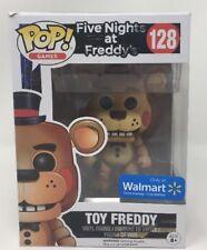 Funko Pop #128 Five Nights At Freddy's Toy Freddy Walmart Exclusive