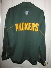 Reebok Team Apparel Green Bay Packers full zip jacket size adult large