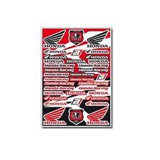 Motocross MX Aufkleber Dekor Honda Factory Racing Sticker Set Kit Rot CR CRF