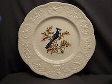 "ROYAL COULDON  ""AVIARY""  BLUE JAY  DINNER PLATE"