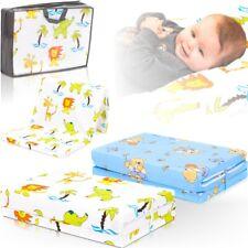 Reisebettmatratze TRAVEL + Tasche 120x60cm Reisebett Baby Kinder Matratze Bett