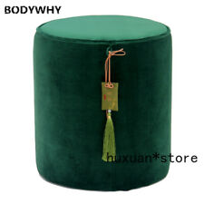 Dressing Stool Nordic Light Luxury Tassel Stool Creative Bedroom Round Chinese