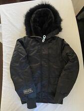 OVO x Canada Goose Women's Coyote Fur Chilliwack Bomber Jacket Size XS Drake