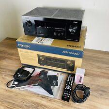 Denon AVR-X2400H | 7.2 Kanal 4k Heimkino Receiver ( DTS:X, Dolby Atmos, WIFI)