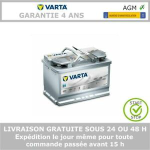 Varta E39 AGM Start Stop Batterie de Voiture 12V 70Ah 278x175x190