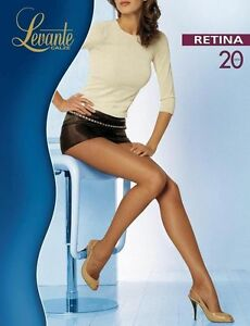 Levante Tights Woman Retina Pantyhose 20 DEN Fine fishnet tights