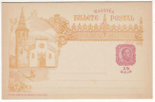CARTE ENTIER POSTALE NEUF PORTUGAL COLONIE MADEIRA THOMAR EGLISE 1498 / 1898