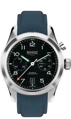 Authorized Dealer Bremont Arrow Black Dial Automatic Mens 42mm Chronograph Watch