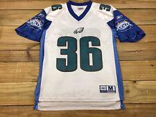 Reebok 2005 Super Bowl XXXIX Philadelphia Eagles Brian Westbrook #36 Jersey M