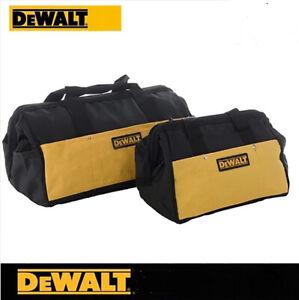 DEWALT Multi-Use Heavy Duty Tool Bag Carrier Massive Mouth Storage Pouch Bag M/L