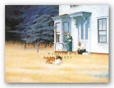 MUSEUM ART PRINT Cape Cod Evening Edward Hopper 24x18