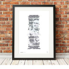 More details for johnny cash ❤ a boy named sue ❤ song lyrics poster art limited edition print #92