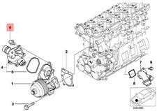 Genuine BMW 5Pcs. Torx Screw X1 X3 X5 Z4 E38 E39 E46 E53 E60 E61 E65 11517514935