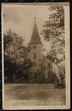 Foto-AK-Kvilda-Außergefild-Böhmerwald-Südböhmen-Kirche-1930er Jahre-