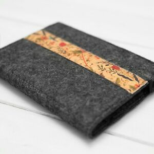 Handmade Felt Book Cover Case for Kindle Voyage Touch Paperwhite Signature 2021