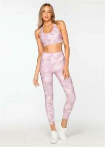 Lorna Jane Cammo Comfort Ankle Biter Tight S 30% OFF RRP!