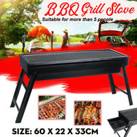 Outdoor Foldable BBQ Charcoal Grill Portable Barbecue Camping Picnic Grill Stove