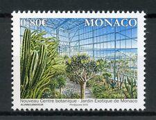Monaco 2018 MNH Exotic Garden New Botanical Centre 1v Set Plants Cactus Stamps