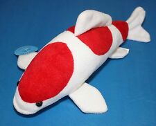 Koi Fish Kohaku Stuffed Plush Soft Toy Great Gift Idea Live size Koibay