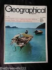THE GEOGRAPHICAL - JUNE 1970 - WATER GIPSIES ANDAMAN SEA