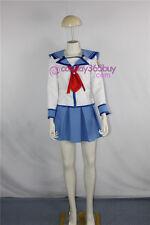 Angel Beats Yuri Nakamura Cosplay costume girl uniform include headwear