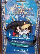 Disneyland Die cast Toy Retired HTF Small World SOLD OUT NIP Mickey Mouse & doll