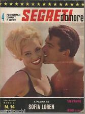 FOTOROMANZI SEGRETI D'AMORE # 14-AGOSTO1963-SOFIA LOREN-ELVIS PESLEY