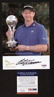 Retief Goosen signed autograph auto 5x7 Photo PGA Golf Legend PSA/DNA