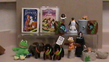 Lot of 14 Kids Meal Toys: HOTEL FOR DOGS, 1995/1996 AROTOCRATS/THREE CABALLEROS-