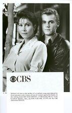 MICHELE LEE RICK SCHRODER MY SON JOHNNY ORIGINAL 1995 CBS TV PHOTO