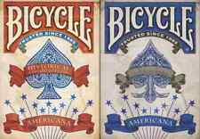 Bicycle Americana Playing Cards 2 Deck Set - Limited Edition - SEALED