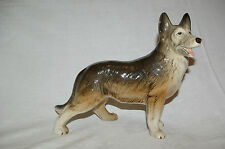 Vintage Melba Ware Figure Alsatian German Shepherd Figurine c1950
