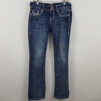 Vigoss Premium Slim Boot Cut Women's Blue Jeans Size 5 x 33