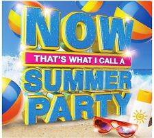 VARIOUS - NOW! THATS WHAT I CALL A SUMMER PARTY BRAND NEW 3CD