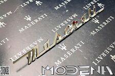 Maserati Inscription Coffre Scritta Emblème Signe Marquer 3200 GT GTA Métal