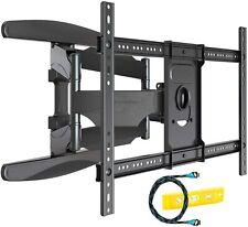 Invision Ultra Strong TV Wall Bracket Mount Double Arm Tilt & Swivel for 37-70 &