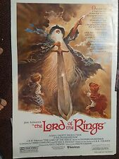 "LOTR Lord of the Rings Animated Movie Tolkien Bakshi One Sheet 27"" x 40"" Repro"