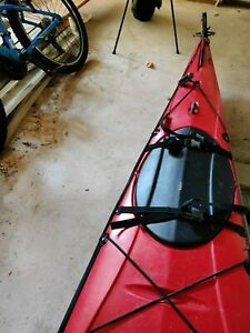 17' Perception Eclipse Sea Kayak Red Good Condition