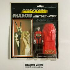 1977 MEGO Micronauts 71004 Pharoid with Time Chamber Red MOC Sealed