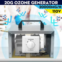 110V 20g Ozone Generator Ozone Disinfection Machine Home Air Purifier 20000mg/hr
