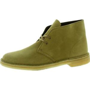 Clarks Mens Suede Comfort Chukka Desert Boot Shoes BHFO 7561