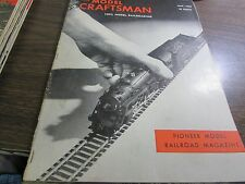 THE MODEL CRAFTSMAN - 100% MODEL RAILROADING  - MAY  1948 - EXCELLENT