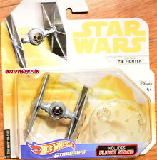 HOT WHEELS STAR WARS IMPERIAL TIE FIGHTER INCLUDES FLIGHT STAND