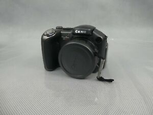 Canon Powershot S3 IS Digital Camera AA Battery Powered Good Used Condition