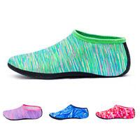 Unisex Camo Skin Water Shoes Beach Socks Yoga Exercise Pool Swim On Surf Slip